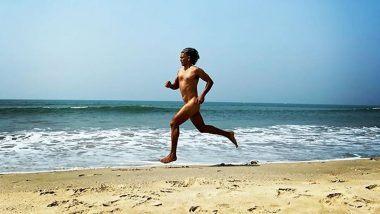 Milind Soman चं 55 व्या वाढदिवसा दिवशी समुद्रकिनारी Nude Run; सोशल मीडीयात पोस्ट केला फोटो