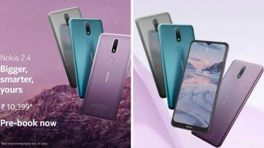Nokia 2.4 स्मार्टफोन भारतात लॉन्च, 4500mAh च्या दमदार बॅटरीसह मिळणार 'हे' फिचर्स