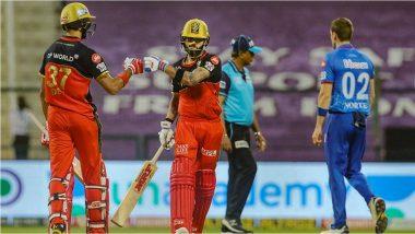 DC vs RCB, IPL 2020: देवदत्त पडिक्क्लचे झुंझार अर्धशतक; रॉयल चॅलेंजर्सचे दिल्ली कॅपिटल्ससमोर 153 धावांचे आव्हान