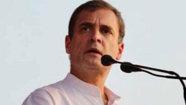 Rahul Gandhi on PM Narendra Modi: 'सदियों का बनाया,पलों में मिटाया' राहुल गांधी यांची पंतप्रधान नरेंद्र मोदी, भाजप सरकारवर टीका