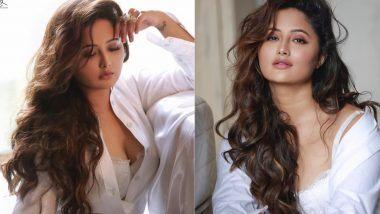 Rashami Desai Hot Photoshoot: अभिनेत्री रश्मी देसाई हिने शर्टाचे बटन खोलून केले खूपच हॉट फोटोशूट, बोल्ड लूक पाहून चाहत्यांनाही फुटेल घाम!
