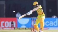 IPL 2021, CSK vs KKR: चेन्नईला पहिला झटका, Ruturaj Gaikwad 40 धावा करून आऊट