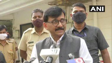 Sanjay Raut On BJP:भाजपने तारखा देणं बंद करावे- संजय राऊत