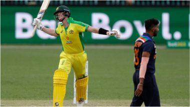 IND vs AUS 2nd ODI: स्टिव्ह स्मिथचे झंझावाती शतक, मार्नस लाबूशेन-ग्लेन मॅक्सवेलच्या फटकेबाजीने टीम इंडियाला 390 धावांचे विशाल आव्हान