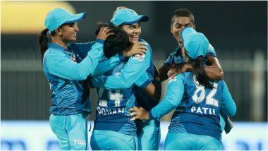 Women's T20 Challenge 2020 Final: राधा यादवच्या अचूक माऱ्यासमोरTrailblazers ने टेकले गुडघे;Supernovas समोर 119 धावांचं आव्हान