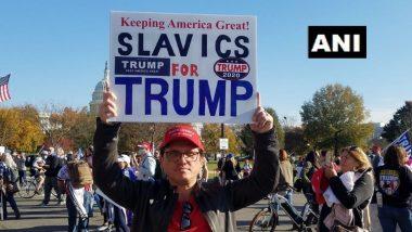 US Protest against Presidential Election Results: अमेरिकेत डोनाल्ड ट्रंम्प यांना समर्थन, निवडणूकीच्या निकालाविरोधात हजारोंच्या संख्येने नागरिकांचे आंदोलन