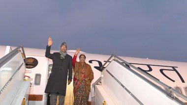 President Ramnath Kovind यांच्याकडून Air India One- B777 विमानाचं उद्घाटन; पहिल्या उड्डाणातून चैन्नईकडे रवाना