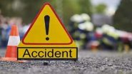Accident: लग्नासाठी जात असताना रस्त्यातच गाडीचा टायर फुटला; दोघांचा मृत्यू, 6 जण जखमी