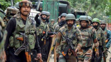 Jammu Kashmir: शोपियां जिल्ह्यातील Hadipora भागात सुरक्षा दलाकडून 3 दहशतवाद्यांना कंठस्नान