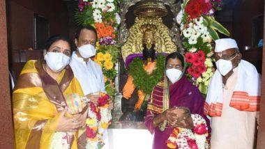 Kartiki Ekadashi 2020: कार्तिकी एकादशी निमित्त उपमुख्यमंत्री अजित पवार यांची सपत्निक विठ्ठल-रखुमाईची शासकीय पूजा संपन्न;  कोरोना संकट दूर करण्यासाठी साकडं