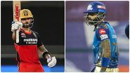 IPL 2021, RCB vs MI: विराट 'ब्रिगेड' आणि रोहितच्या 'पलटन'मध्ये रंगणार IPL चा घमासान, आरसीबी-मुंबई सामन्यात 'या' भारतीयांवर असणार नजर