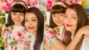 Aishwarya Rai ने मुलगी Aaradhya सोबतचे खास फोटो शेअर करत  वाढदिवसाच्या शुभेच्छा देणाऱ्या चाहत्यांचे मानले आभार