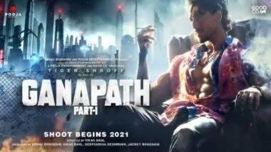 Ganpath Part 1: 'गणपत' सिनेमाच्या टीझर पोस्टरवर टायगर श्रॉफ याचा दमदार अंदाज (Watch Video)