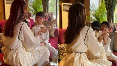 शिल्पा शेट्टी चा मुलगा वियान आणि 9 महिन्यांची मुलगी समिषा यांनी अशी साजरी केली पहिली भाऊबीज (Watch Video)