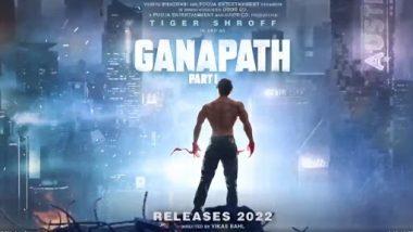 Ganapath Part-1 Poster: टायगर श्रॉफ च्या 'गणपत पार्ट-1' चित्रपटाचे मोशन पोस्टर प्रदर्शित; पहा थ्रिलर अॅक्शन