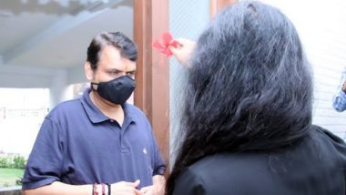 Devendra Fadnavis Recovered From COVID19: विरोधीपक्षनेते देवेंद्र फडणवीस यांची कोरोनावर मात; पत्नी अमृता फडणवीस यांची माहिती