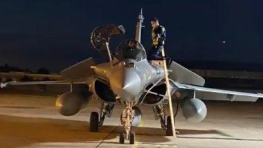 Rafale Fighter Jets: भारतीय वायुदलाचे बळ वाढले; राफेल लढाऊ विमानांची दुसरी तुकडी भारतात दाखल