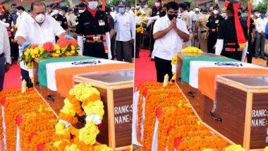 Rishikesh Jondhale: महाराष्ट्राचे सुपुत्र शहीद ऋषीकेश जोंधळे यांच्या पार्थिवावर अंत्यसंस्कार