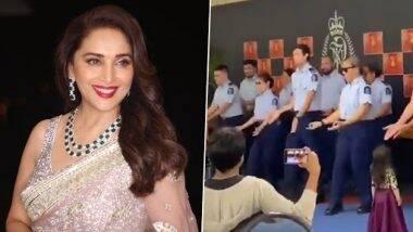 New Zealand Police थिरकले बॉलिवूडच्या Kala Chashma गाण्यावर; माधुरी दीक्षित ने शेयर केला Video
