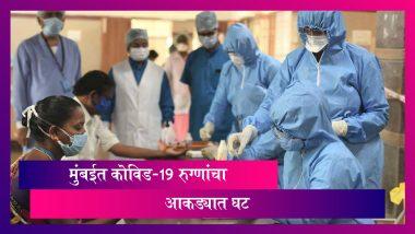 COVID-19 Cases in Mumbai: मुंबईकरांसाठी दिलासादायक बातमी; COVID-19 बाधित रुग्णांच्या संख्येत घट