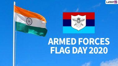 Armed Forces Flag Day 2020: भारतीय  जवानांच्या शौर्याला सलाम करण्यासाठी खास शुभेच्छापत्रं, HD Images, Wallpapers