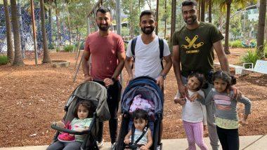 IND vs AUS 2020-21: अजिंक्य रहाणे, चेतेश्वर पुंजारा, अश्विन ऑस्ट्रेलियामध्ये करताहेत बेबी-सिटिंग, फोटो पाहून तुम्हीही म्हणाल'Keep It Up'