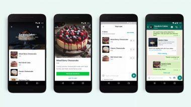 WhatsApp Carts Feature मुळे आता व्हॉट्सअॅप वर शॉपिंगचा अनुभव होणार अधिक सुकर; पहा कसं वापराल हे फीचर
