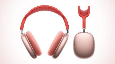 Apple AirPods Max: अॅपल ने लॉन्च केले त्यांचे पहिले Over-Ear Wireless Headphones; पहा फीचर्स, किंमत
