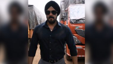 Salman Khan चा 'Antim' चित्रपटातील फर्स्ट लूक आला समोर, मेहुणा आयुष शर्मा ने शेअर केला 'हा' व्हिडिओ