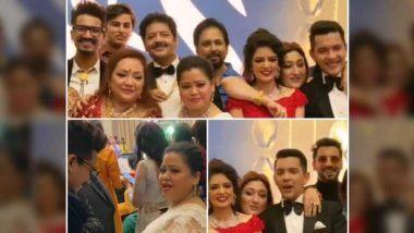Aditya Narayan-Shweta Agarwal Wedding Reception Photos: गोविंदा, भारती सिंह या सेलिब्रेटींची आदित्य-श्वेता च्या रिसेप्शनला हजेरी; पहा फोटोज, व्हिडिओ