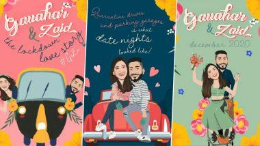 Gauahar Khan-Zaid Darbar Wedding Card: गौहर खान ने डिजिटल लग्नपत्रिकेतून चाहत्यांना सांगितली आपली लव्हस्टोरी, Watch Video