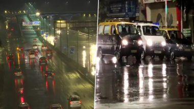 Mumbai Rains Update: मुंबई, ठाणे, नवी मुंबईत मध्यरात्रीपासून दमदार पावसाची हजेरी, आजही दिवसभर वातावरण ढगाळ राहण्याची शक्यता- IMD