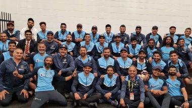 IND vs AUS 2nd Test 2020: टीम इंडिया अशाप्रकारे करतेयऐतिहासिक विजयाचा आनंद साजरा,पहा Photos