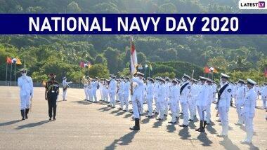 National Navy Day 2020 HD Images: भारतीय नौदल दिनाच्याWhatsApp Stickers, Messages आणिWishes च्या द्वारे द्या शुभेच्छा संदेश