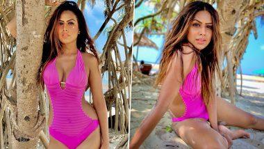 Nia Sharma Hot Bikini Photos: अभिनेत्री निया शर्मा चा बिकिनी मधील हॉट अवतार पाहून भल्याभल्यांची उडेल झोप
