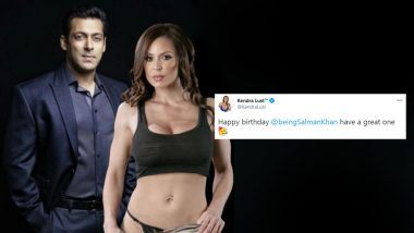 XXX Star Kendra Lust ने हॉट फोटो शेअर करत Salman Khan ला 55 व्या बर्थ डे निमित्त  दिल्या शुभेच्छा