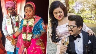 Bharti Singh आणि Haarsh Limbachiyaa यांनी लग्नाला 3 वर्ष पूर्ण झाल्यानिमित्त एकमेकांना दिल्या शुभेच्छा, सोशल मिडियावर शेअर केले 'हे' सुंदर फोटोज