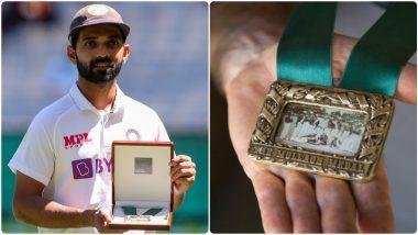 IND vs AUS Boxing Day Test 2020: अजिंक्य रहाणेने मिळवला पहिला मान, मानाचे Mullagh Medal पटकावणारा पहिला खेळाडू
