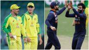 IND vs AUS 3rd ODI: विराट कोहलीचा टॉस जिंकून पहिले फलंदाजी करण्याचा निर्णय, प्लेइंग इलेव्हनमध्ये झाले मोठे बदल; टी नटराजनचे डेब्यू