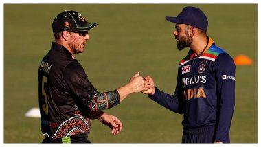 IND vs AUS 1st T20I: आरोन फिंचचा टॉस जिंकून पहिले गोलंदाजीचा निर्णय, टीम इंडियासाठी वनडेनंतर नटराजनचे टी-20 डेब्यू