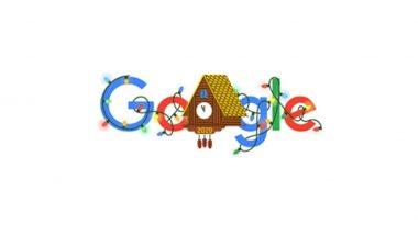 New Year's Eve 2020 Google Doodle: सरत्या वर्षाच्या शेवटच्या दिवशी खास डूडलद्वारे गुगल साजरी करत आहे नववर्षाची पूर्वसंध्या
