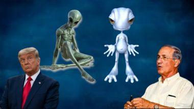Aliens and 'Galactic Federation' Exist: एलियन्स आणि अमेरिका यांच्यात गुप्त करार,  Israeli general Haim Eshed यांचा दावा