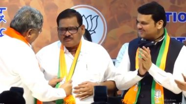 Balasaheb Sanap Join BJP: बाळासाहेब सानप यांचा शिवसेनेला 'जय महाराष्ट्र', दोन वर्षांमध्ये बदलले तीन पक्ष