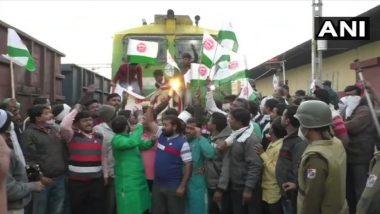 Bharat Bandh: बुलढाणा जिल्ह्यात स्वाभिमानी शेतकरी संघटनेकडून भारत बंदच्या पार्श्वभुमीवर रेल्वे रोको आंदोलन