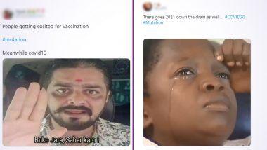 Coronavirus Mutation Funny Memes: युके मधील New Strain of COVID-19 च्या बातम्यांवरून New Year 2021 ला टार्गेट करत नेटकर्यांनी शेअर केले मजेशीर विनोद, मिम्स