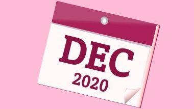 December 2020 Festivals, Events and Holiday Calendar: महापरिनिर्वाण दिन ते महालक्ष्मी गुरूवार व्रत, नाताळ यंदा कधी?