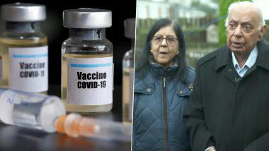 Hari Shukla,  87  वर्षीय भारतीय वंशाच्या व्यक्तीचा युकेच्या Newcastle Hospital मध्ये  प्रथम Pfizer-BioNTech ची कोविड 19 लस मिळणार्यांच्या यादीत समावेश