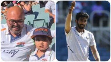 IND vs AUS 1st Test 2020: 'बूम बूम' बुमराह! भारतीय गोलंदाजला चीअर करण्यासाठी अॅडिलेड ओव्हलमध्ये आला त्याचा छोटा फॅन, पहा क्युट Video