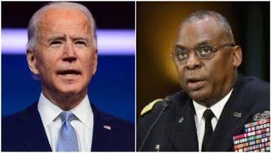 First Black Defence Seceratry Appointed in US: अमेरिकेचे राष्ट्राध्यक्ष Joe Biden यांच्याकडून संरक्षण मंत्री पदावर कृष्णवर्णीय Lloyd Austin यांची निवड