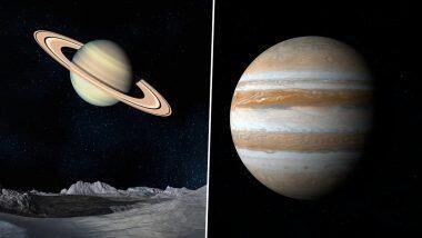 Moon-Jupiter Conjunction: अवकाशात आज पूर्व-ईशान्य भागामध्ये पहायला मिळणार चंद्र-गुरूची युती